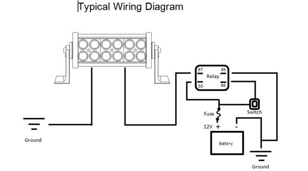 Led Lights Wiring Diagram