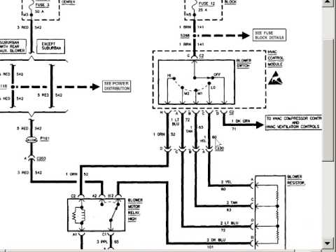 2005 Chevy Colorado Blower Motor Wiring Diagram