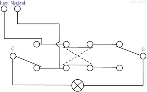 Three Way Circuit Diagram
