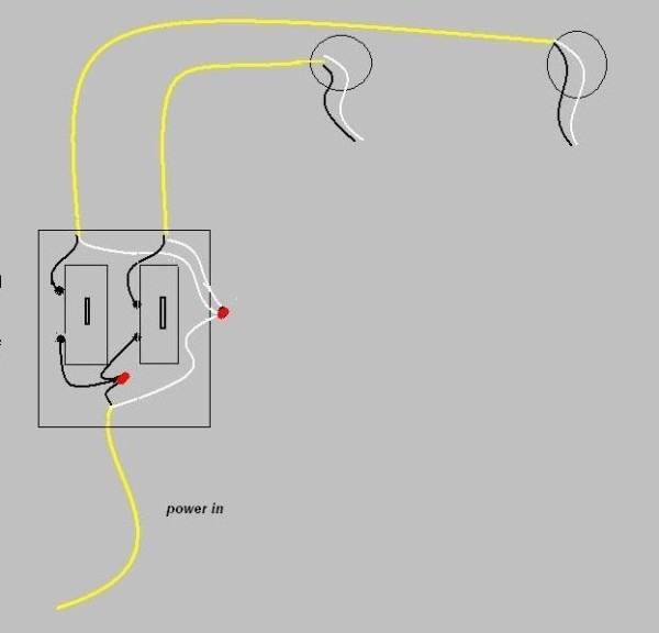 Wiring Two Switches From One Power Source