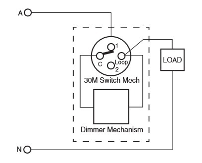 Dimmer Switch Connection Diagram