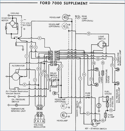 Ford 5000 Wiring Diagram