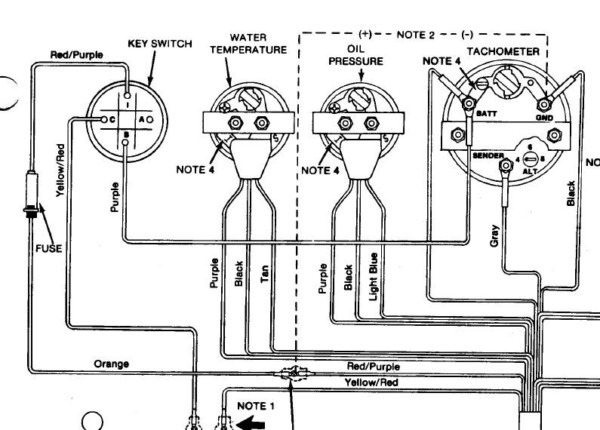 Yamaha Tachometer Wiring Diagram