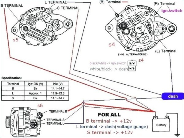 Mazda 3 Alternator Wiring Diagram