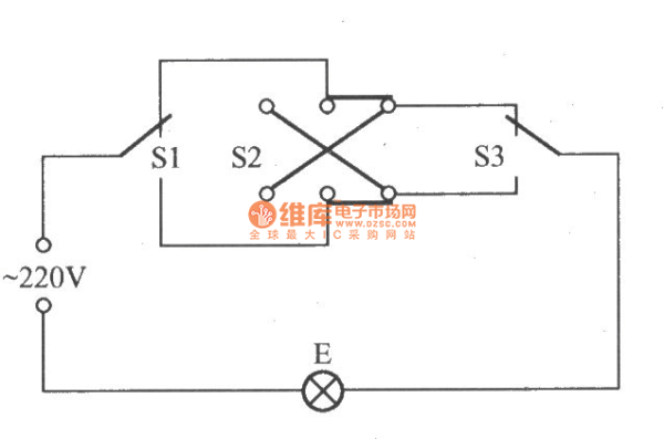 Three Switch Light Circuit