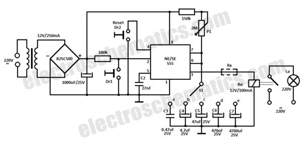 Timer Relay Circuit