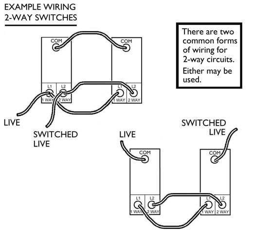 Light Switch Wiring Common