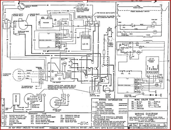 Hvac Electrical Diagram