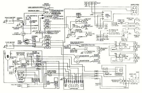 1999 Bluebird Bus Wiring Diagram