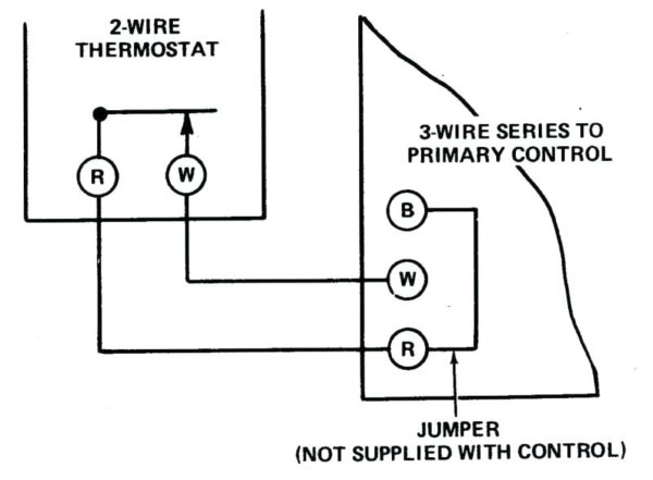 Two Wire Thermostat Wiring