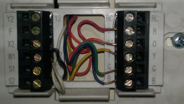 2wire Programmable Thermostat Wiring Diagram Trane Thermostat Wiring