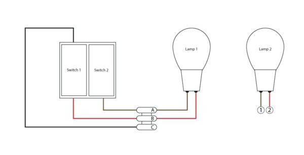 Double Light Switch Wiring Explained