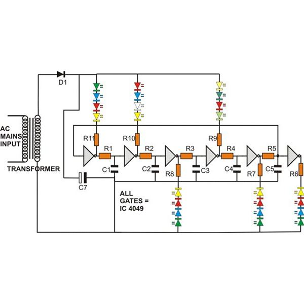 Fairy Lights Wiring Diagram