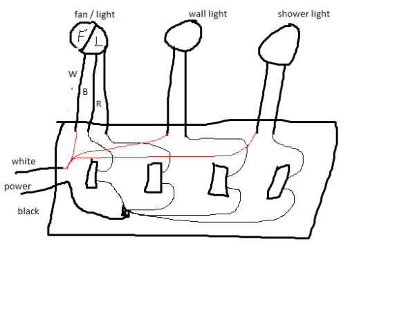 How To Wire A 4 Gang Light Switch