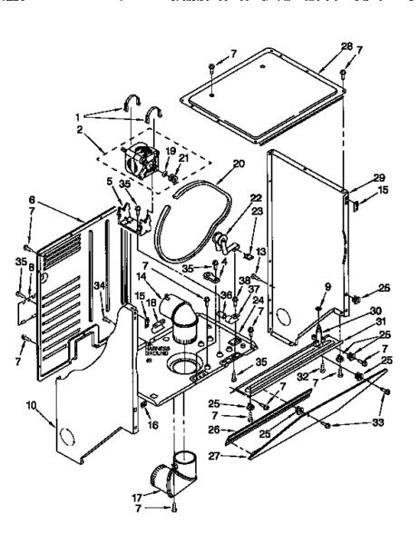 Wiring Washer Dryer