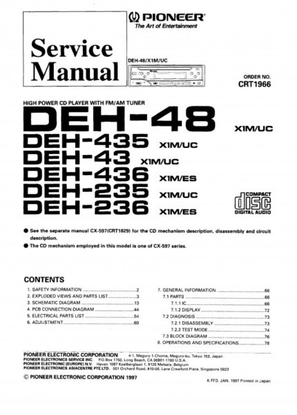 diagram pioneer deh 43 wiring diagram full version hd
