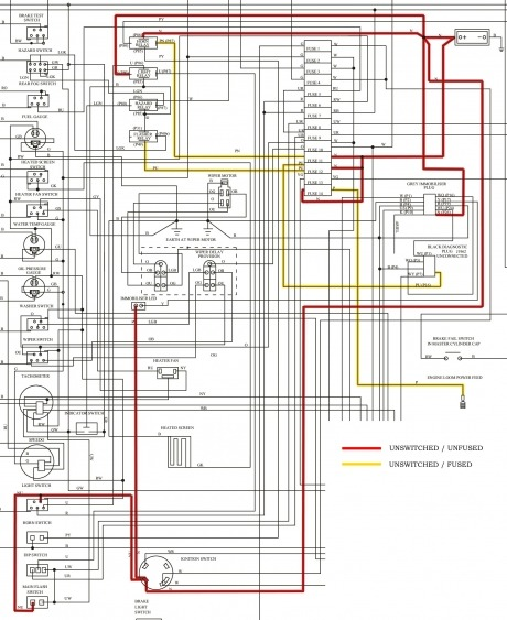 wiring painless wiring harness diagram 73 jeep full quality