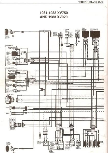 Virago Wiring Diagram