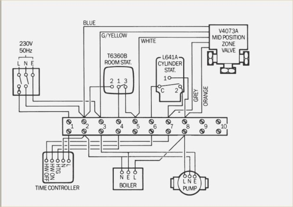 Boiler Control Panel Wiring Diagram
