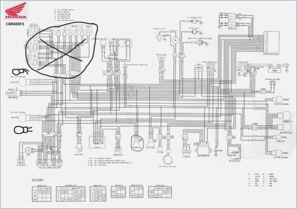 Honda Cbr 600 F2 Wiring Diagram
