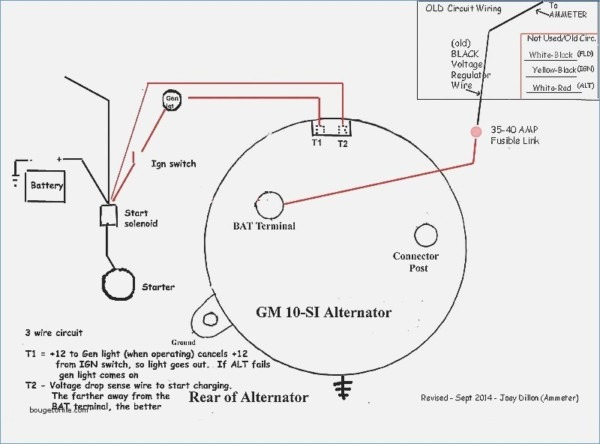 Chevy 3 Wire Alternator Diagram