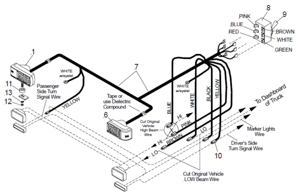 download meyer snow plow light wiring diagram ford full hd