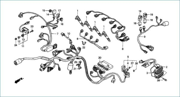 Cbr 600 F4 Wiring Diagram
