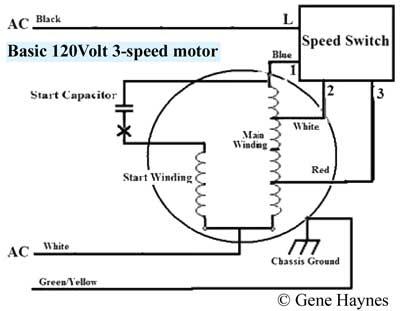 3 Speed Fan Switch Schematic