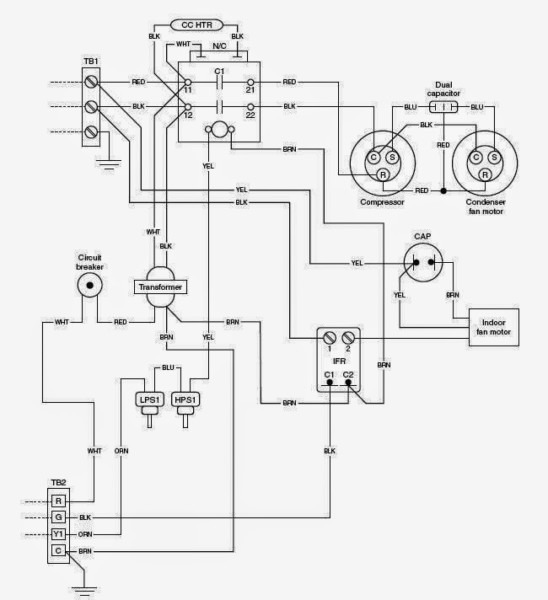 Schematic Diagram Of Hvac System