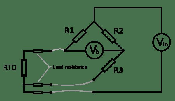 3 Wire Pt100 Wiring Diagram