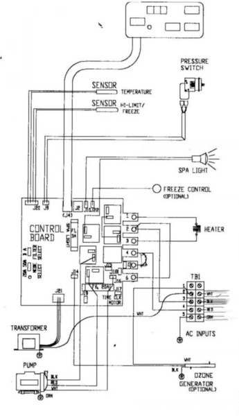Wiring Diagram For Hot Tub