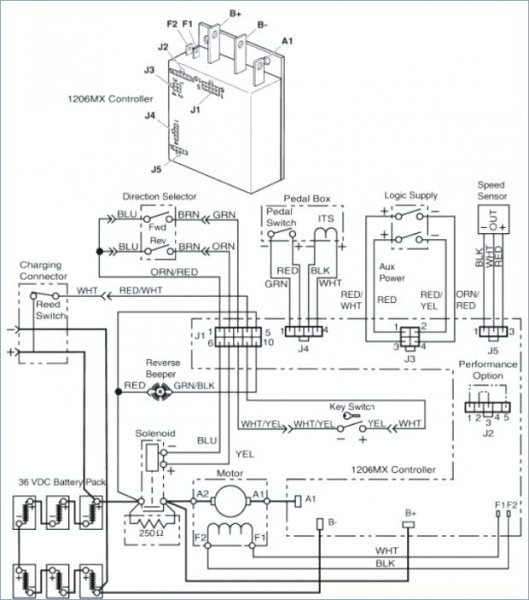 Ez Go Wire Diagram