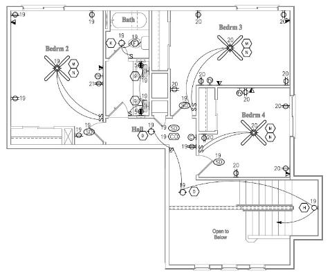 Home Electrical Layout