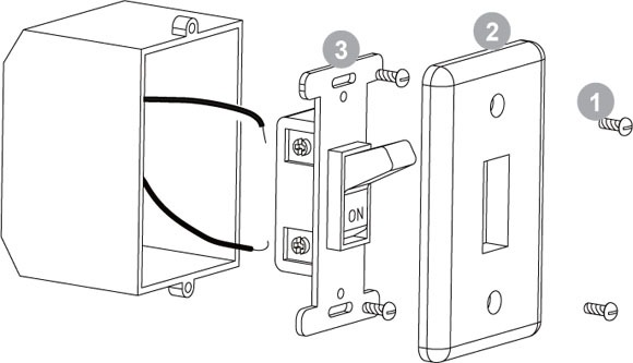 Wall Switch Diagram