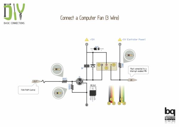 Computer Fan Wiring Diagram