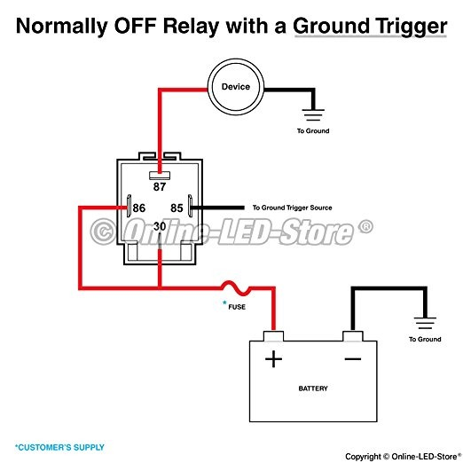 4 Pole Relay Wiring