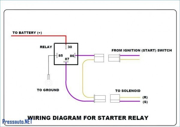 4 Wire Relay Diagram