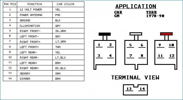 2001 Gmc Yukon Radio Wiring Diagram