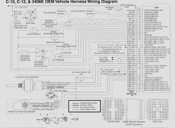 Cat C13 Wiring Diagram