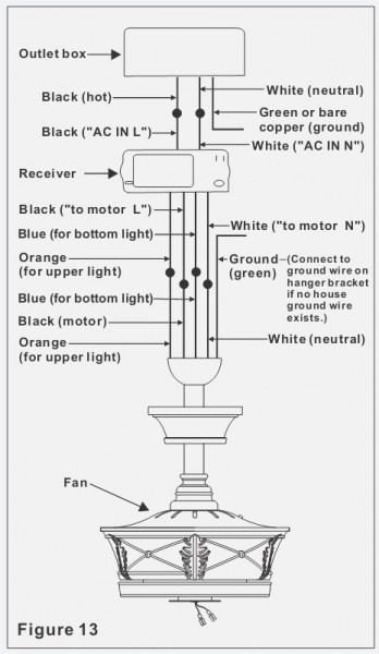 Ceiling Fan Motor Schematic