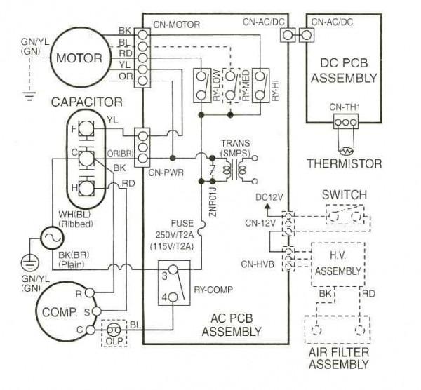 Central Air Wiring Diagram