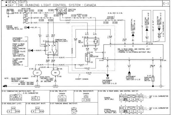 mazda b2200 distributor wiring diagram  best fusebox and