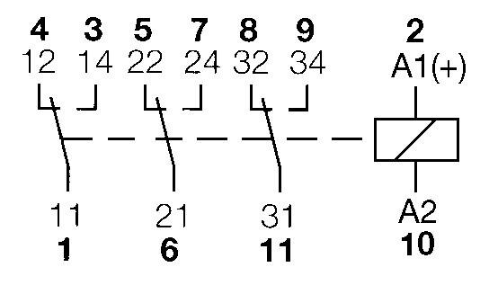 11 Pin Relay