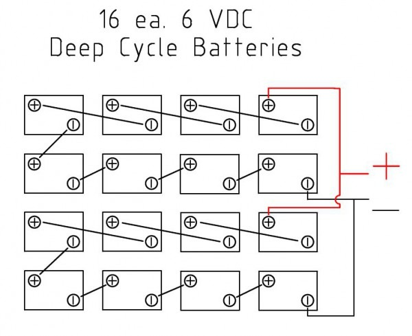 48v Battery Bank Wiring Diagram