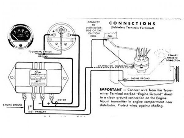 Sun Super Tach Wiring Diagram