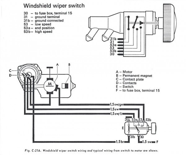 Wiring Diagram 1973 Vw Super Beetle - Auto Electrical Wiring ... on