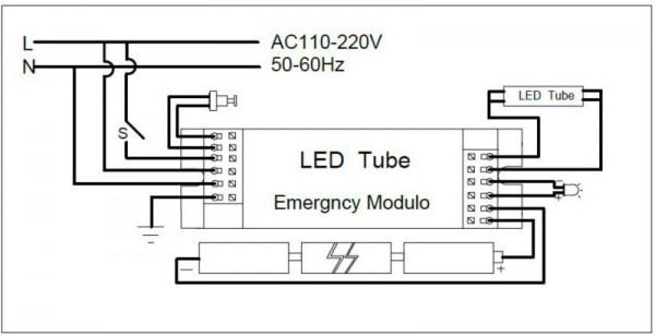 Emergency Exit Sign Wiring Diagram