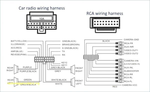 Pioneer Fh X720bt Wiring Harness Diagram