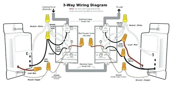 Double Three Way Light Switch