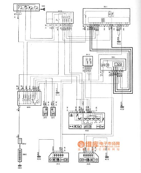 Citroen C4 Wiring Diagram